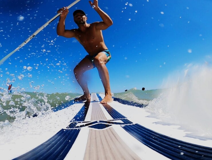 SUP in Salento