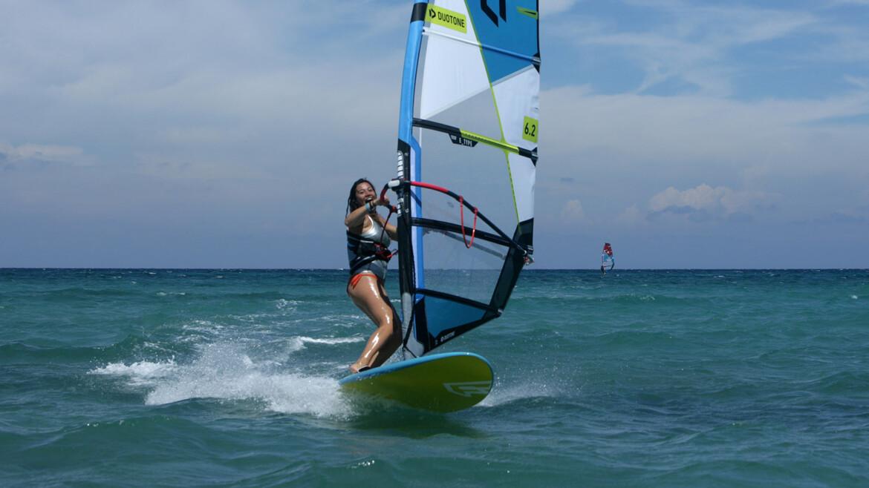 Iniziare a praticare Wind Surf?